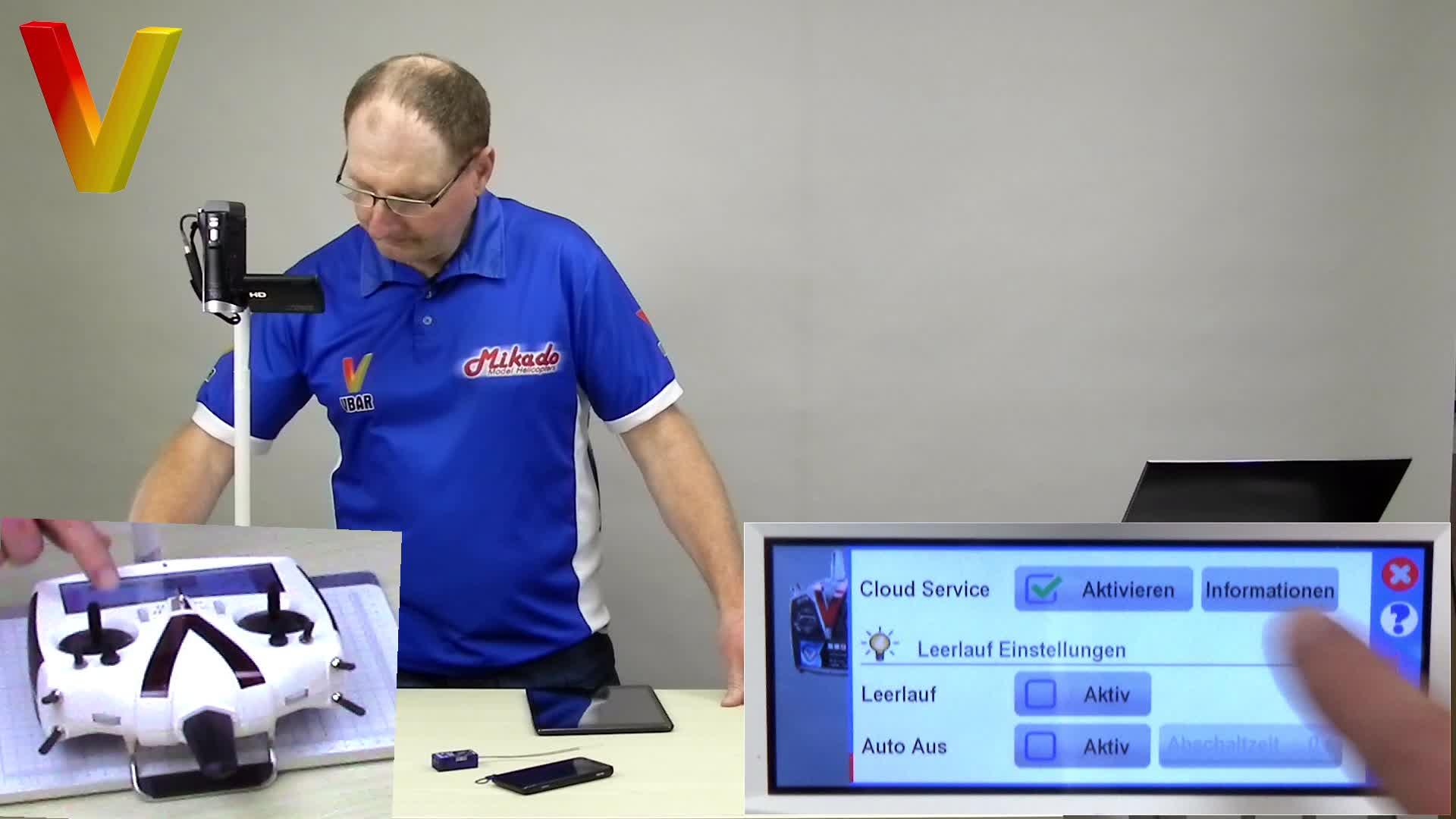 01 VBC-t Inbetriebnahme und App Store
