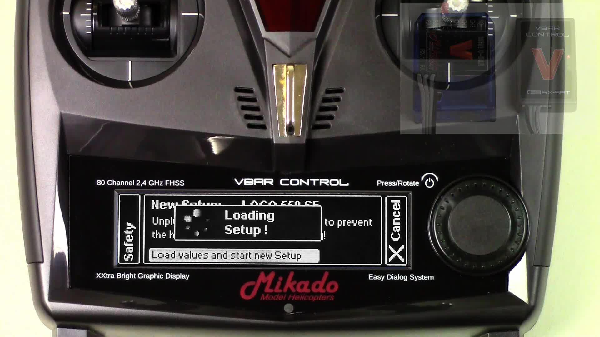 VBar Control first steps and setup | VStabi